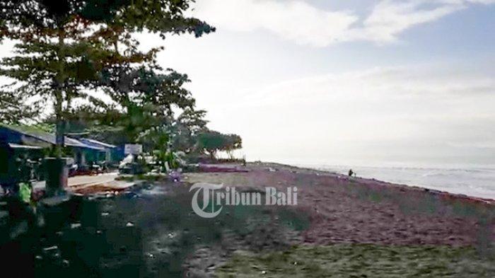 Pantai di Klungkung Bali Lengang Saat Banyu Pinaruh, Kepolisian dan TNI Berjaga Ketat