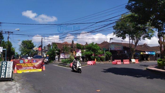 PPKM Darurat, 4 Titik Pos Penyekatan di Denpasar Terpantau Ramai Lancar