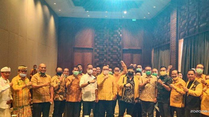 Airlangga Briefing 5 Calon Kepala Daerah Golkar, Target Menang Minimal 60 Persen di Pilkada se-Bali