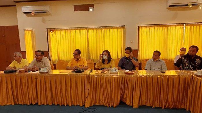 Para Ketua Terpilih Sowan ke Sugawa Korry Usai Dapat 'Hadiah' Terpilih Secara Aklamasi di Musda 2020