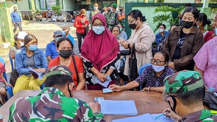 1000 Pedagang di Klungkung Terima Bantuan Tunai, Bupati Suwirta Tekankan Jangan Gunakan untuk Ini