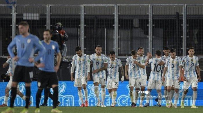 Lagi! Messi Ukir Sejarah Setelah Cetak Satu Gol ke Gawang Paraguay