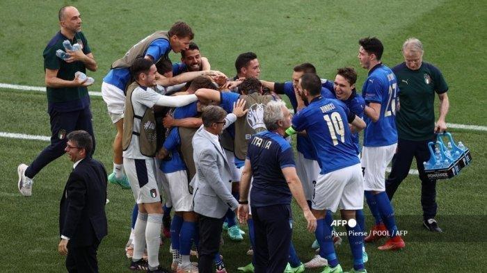 Kiprah Timnas Italia akan Segera Teruji di Perempat Final Saat Bertemu Belgia Atau Portugal