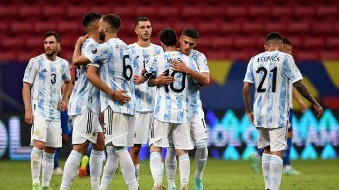 HASIL Argentina Vs Brasil: Messi Akhirnya Angkat Trofi Copa America 2021, Penantian Sejak Tahun 2005