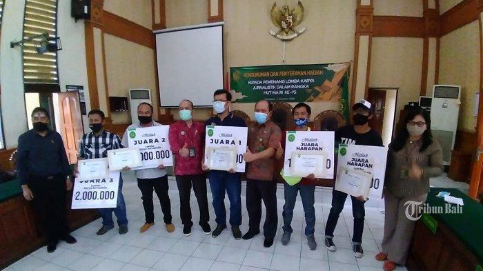 Sambut HUT Mahkamah Agung ke-75, PN Denpasar Umumkan Pemenang Lomba Karya Jurnalistik
