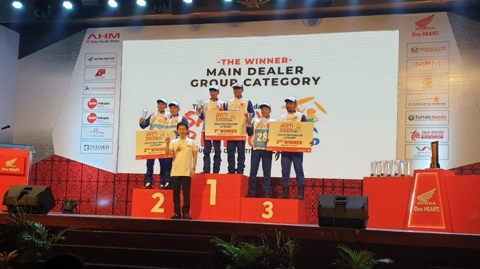 Astra Motor Bali Mendominasi di Tiga Kategori Astra Honda Safety Riding Instructors Competition