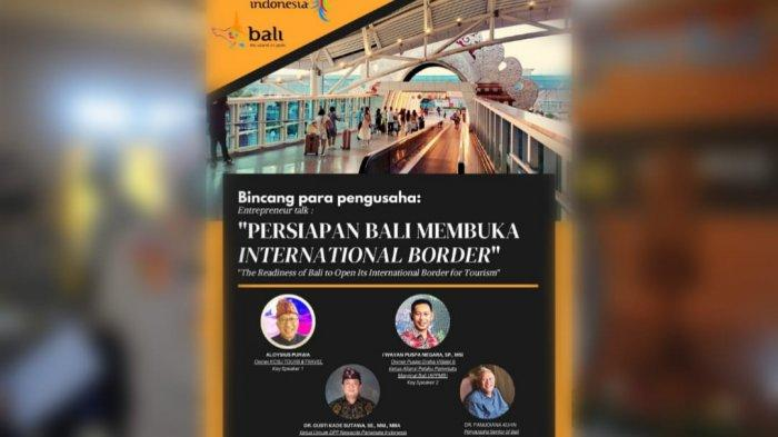 Para Pengusaha Pariwisata Provinsi Bali Bahas Kesiapan Pembukaan Border Internasional