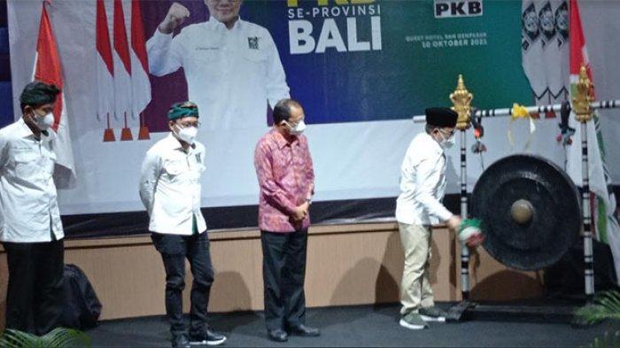 Buka Muscab Serentak se-Bali, Gus AMI Optimistis PKB Mampu Jadi Partai Nomor Dua di Pemilu 2024