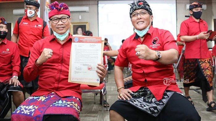 Maju Pilkada Badung 2020, Bupati Badung dan Wakilnya Ajukan Izin Cuti