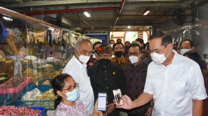 Disambangi Mendag Muhammad Lutfi, Pasar Badung Dirancang Jadi Percontohan SOP Pedulilindungi