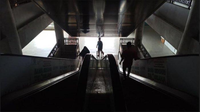 Kondisi Sepi Ditambah Pandemi, 50 Persen Kios dan Los di Pasar Badung Lantai 3 dan 4 Tutup