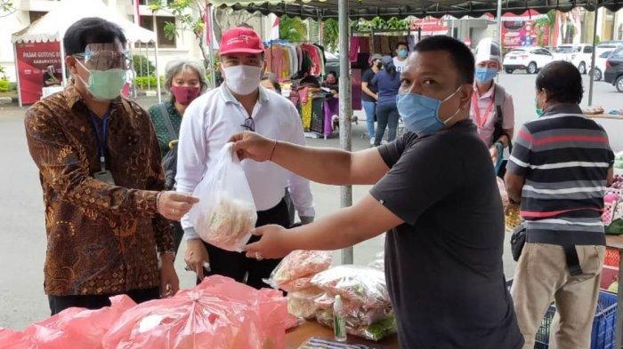 17 UMKM Dilibatkan Dalam Pasar Gotong Royong Krama Bali