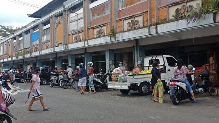 35 Pedagang Pasar Kidul Bangli Positif Covid-19,Pasat Kidul Bangli Ditutup Mulai Hari Ini