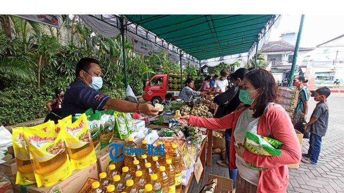 Pasar Murah Galungan Digelar 2 Hari di Denpasar Bali, Harga Lebih Murah Hingga 15 Persen