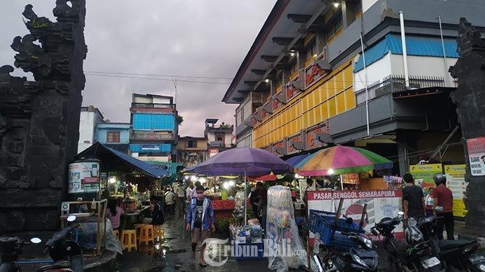 Jualan Makin Susah, Pedagang Pasar Senggol Klungkung: Masyarakat Kecil Hanya Bisa Pasrah