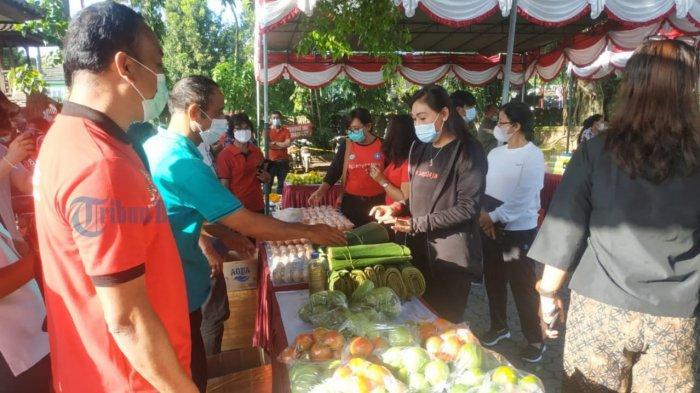 Bantu Petani Pasarkan Hasil Pertanian, Pemkab Gianyar Gelar Pasar Tani