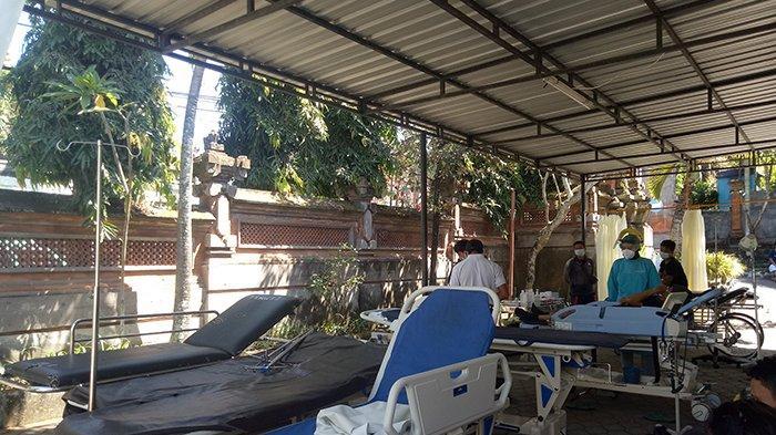 Ruangan Dipakai Tempat Screening, Pasien Non Covid-19 Sementara Dirawat di Luar IGD RSUD Karangasem