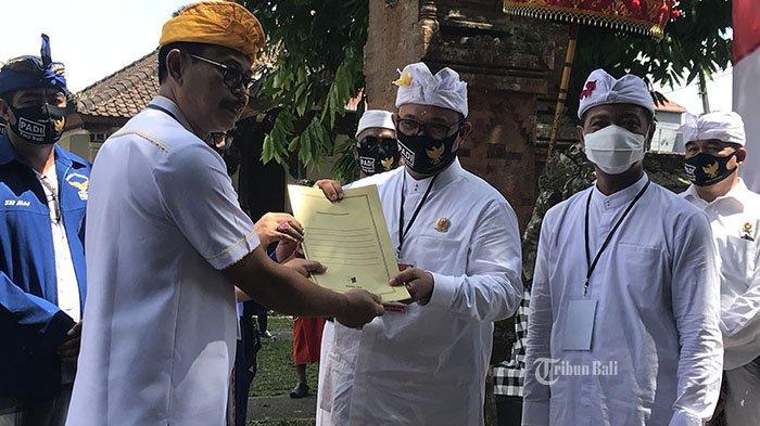 Koalisi Tabanan Maju Deklarasi Panji-Budi di Pilkada 2020