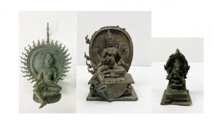 Jaksa Amerika Kembalikan Patung Dewa Siwa, Dewi Parwati & Dewa Ganesha; Ini Penampakannya