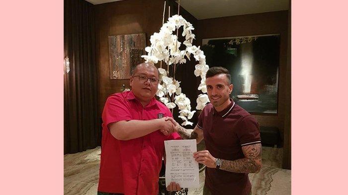 BREAKING NEWS: Paul Sergio Resmi Masuk Skuat Bali United,Manajer Bhayangkara FC: Saya Tidak Rela