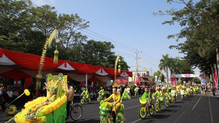 Potensi dan Budaya Banyuwangi Warnai Pawai Sepeda Hias Kemerdekaan