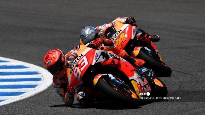 JADWAL MotoGP 2021: Rider Repsol Honda Marc Marquez & Pol Espargaro Optimis, Live Trans7 & Vidio.com