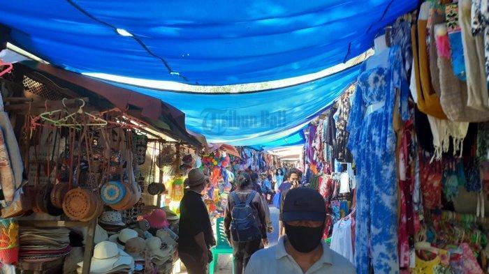 Setahun Lebih Pandemi Covid-19, Pedagang di Pantai Sanur Bali Bertahan dengan Simpanan yang Ada