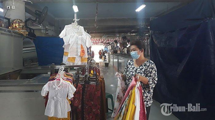 Pedagang Pakaian di Pasar Badung Diperbolehkan Jualan Lagi Setelah Tutup 10 Hari