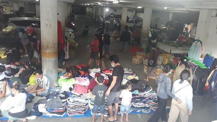 Direlokasi ke Basement Pasar Badung, Pedagang Pelataran Pasar Kumbasari Khawatir Tak Dapat Pembeli