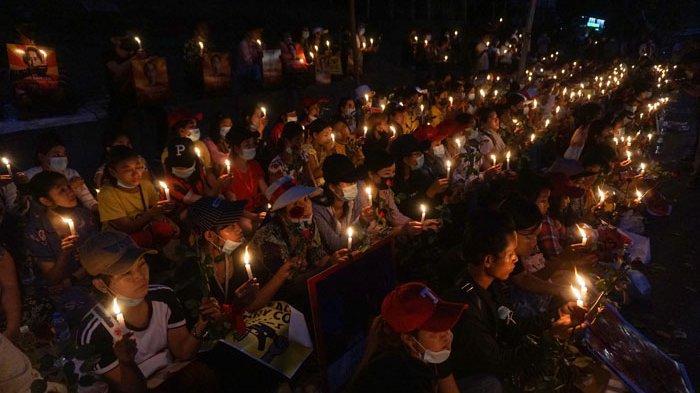 Indonesia Bantah Dukung Pemilu Baru di Myanmar, KBRI Yangon Didemo
