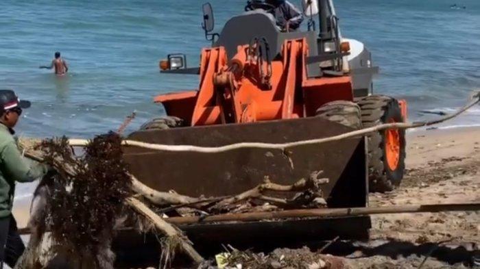 Sampah Kiriman di Badung Bali Didominasi Plastik, Sampai 90 Ton per Hari