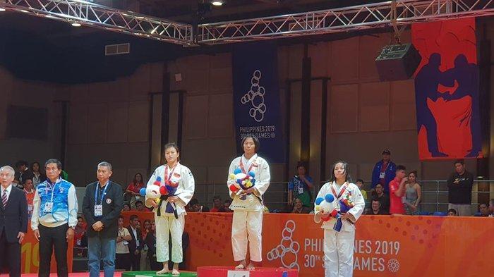 Pejudo Bali Ni Kadek Anny Pandini Raih Medali Emas di SEA Games 2019
