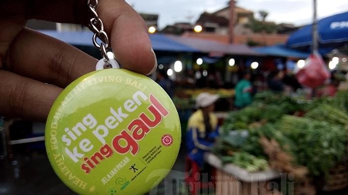 Sing Ke Peken Sing Gaul, Benarkah Anak Muda Kekinian Enggan Belanja ke Pasar Tradisional?