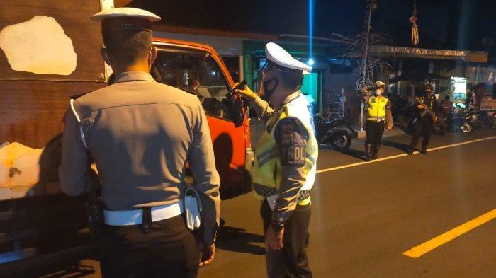 H-1 Lebaran Idul Fitri, Pengamanan Pos Sekat di Pelabuhan Padangbai Bali Semakin Diperketat