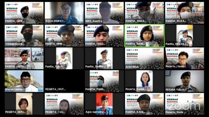 Menwa Undiksha Gelar Webinar Nasional 'Pandemi, Pemuda Harus Bagaimana?'
