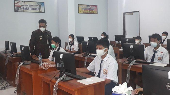 3.363 Siswa SMP di Denpasar Ikut ANBK, Pengganti Ujian Nasional
