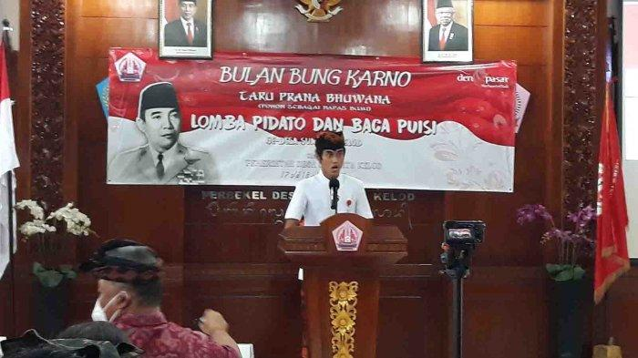 Sumerta Kelod Denpasar Gelar Bulan Bung Karno dengan Lomba Pidato dan Baca Puisi