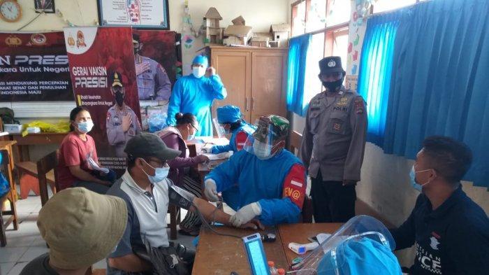 Vaksinasi Polres Bangli Telah Mencapai 9.251 Orang, Targetkan 1000 Vaksin Perhari