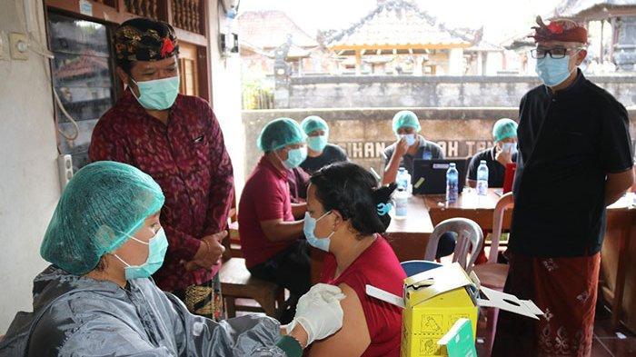Bangli Mulai Gerakan Serentak Vaksinasi Covid-19 di 7 Desa, Digelar Selama Enam Hari