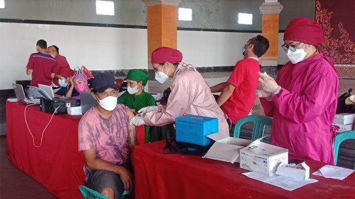 Program Gertak Vaksinasi Covid-19 di Bangli Berlanjut, Sasar 40 Ribu Warga di 12 Desa