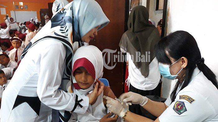 Vaksin MR Sempat Mendapat Penolakan, MI Al Hudy Lakukan Pendekatan pada Wali Murid