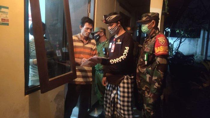 Desa Peguyangan Kangin Denpasar Gelar Sidak, Data 55 Orang Penduduk Pendatang Non Permanen