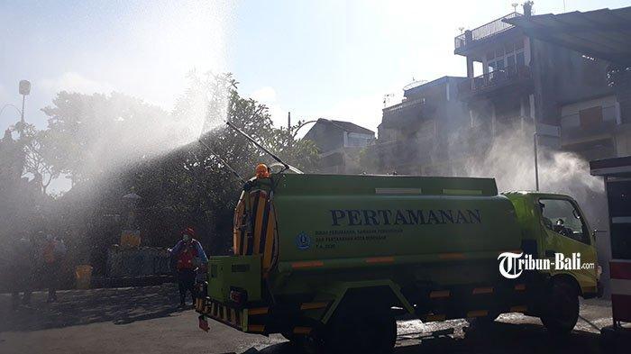Dimulai dari Pasar Badung, 1.000 Liter Eco Enzyme Disemprotkan di Seluruh Kota Denpasar