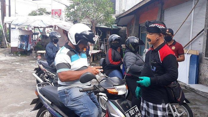 PSBB di Denpasar, Tak Ada Penjagaan Pintu Masuk