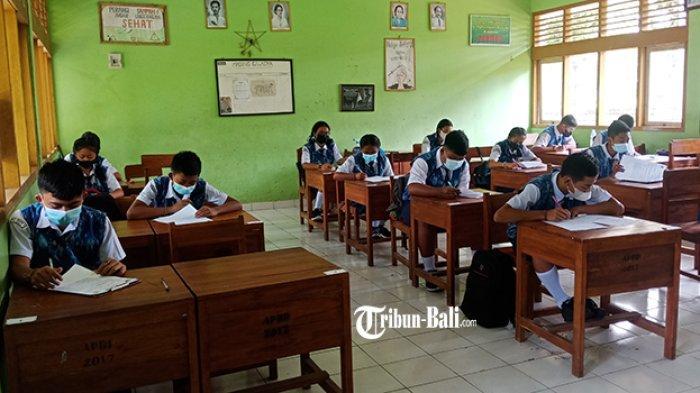PTM Smansa Tabanan Disetop, Dua Siswa Positif, Kelas Dialihkan Daring Lagi