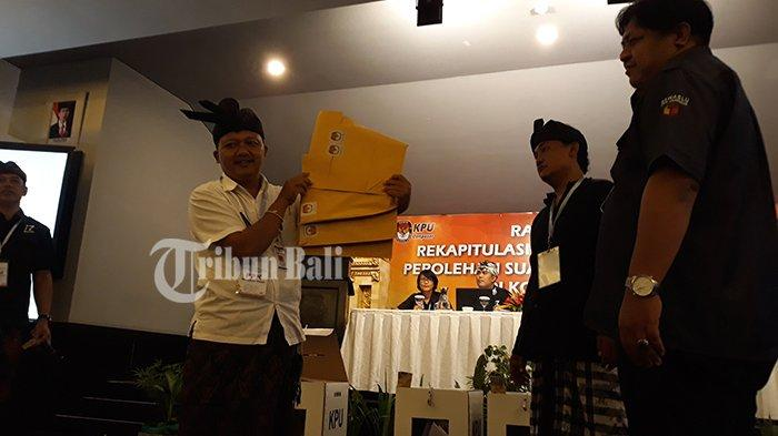 Prabowo-Sandi Tertinggal 298.564 Suara dari Jokowi-Amin di Kota Denpasar