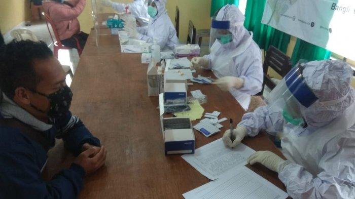 KPU Bangli AkanRapid Test 20 Anggota PPDP di Wilayah Kintamani