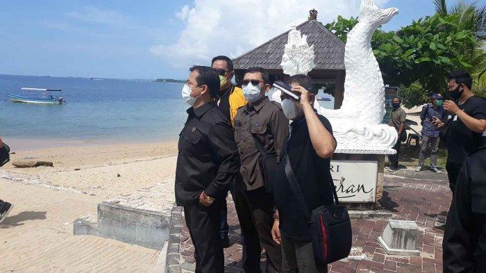 Dewan Denpasar Sidak ke Pantai Sanur Bali, 80 Persen Bangunan Melanggar Sempadan Pantai