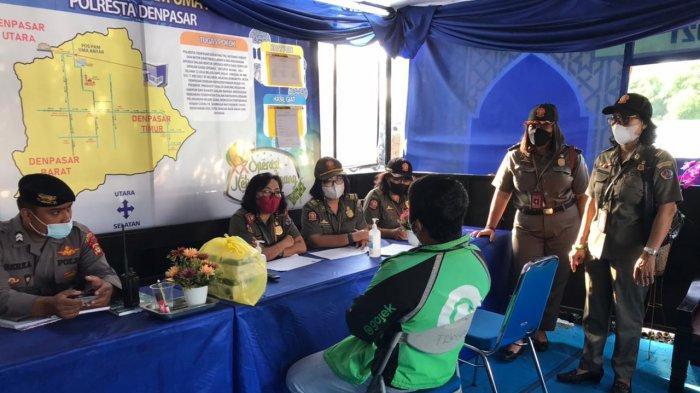 Sidak Prokes di Denpasar, Tak Ada Pelanggar yang Didenda, 28 Orang Dirapid Test