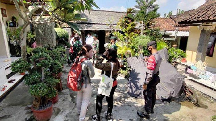 Kontak Erat dengan Pasien Covid-19, Delapan Warga di Desa Peguyangan Kangin Denpasar Ditracing